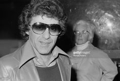 American singer Frankie Valli of pop vocal group The Four Seasons, London, 31st March 1976.