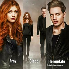 Morgenstern X Herondale Shadowhunters Tv Series, Shadowhunters The Mortal Instruments, Clary E Jace, Dominic Sherwood, Cassandra Clare Books, Jamie Campbell Bower, Katherine Mcnamara, Clace, Shadow Hunters