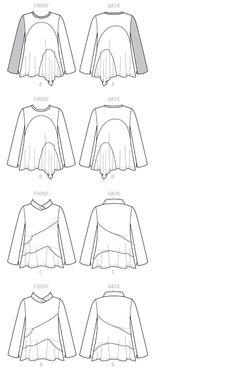 Marcy Tilton's Blog For Everyday Creatives: Seamed Tunics