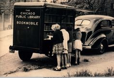 *vintage chicago public Library bookmobile