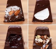 Here is an amazing way to make your own version of chocolates at home.