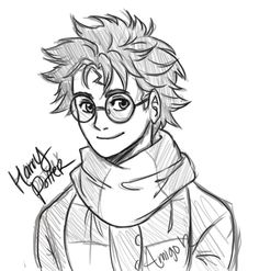 Harry Potter by amigo12