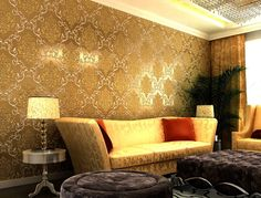 15 Ideas Room Wallpaper Bedroom Wallpapers Beds For 2019 Asian Paint Design, Asian Paints Wall Designs, Living Room Wallpaper Texture, Textured Wallpaper, Bedroom Wallpaper, Trendy Wallpaper, Photo Wallpaper, Wall Colour Texture, Wall Texture Design