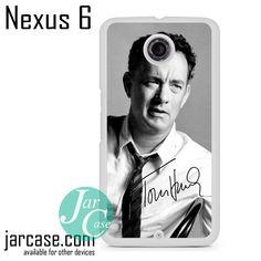 Tom Hanks Signature Phone case for Nexus 4/5/6
