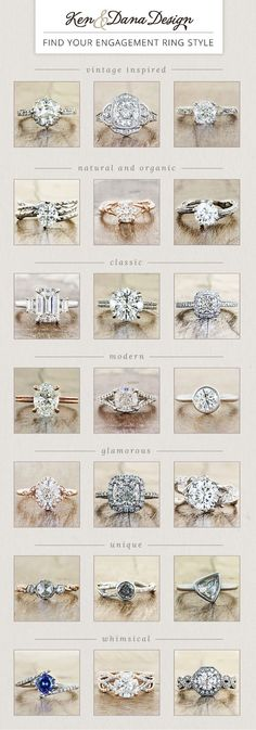 💍 Engagement Ring Style Gide