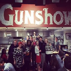 Chef Kevin Gillespie's restaurant Gunshow in Atlanta, GA