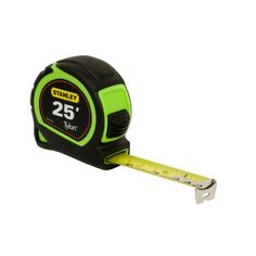 Stanley ~ Hi-Vis - 25 Foot 1 Inch Tape Measure (Green In Color)