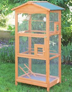 Bird House Kits Make Great Bird Houses Big Bird Cage, Bird Cages, Parakeet Cage, Farm Lifestyle, Duck House, Bird Aviary, Wood Bird, Interior Garden, Bird Toys