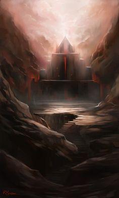 The Dark Temple by rodmendez on DeviantArt