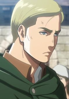 They cant kill him! Erwin Smith.... smh no one is safe in Attack on Titan