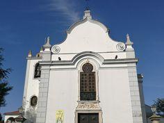 A Igreja Paroquial de São João Batista de Almeirim possui no coro alto sobre a entrada um órgão histórico (positivo de armário). Notre Dame, Building, Travel, Entryway, Viajes, Buildings, Destinations, Traveling