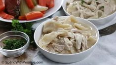 Old Fashioned Chicken and Dumplings - Spend With Pennies Slow Cooker Recipes, Crockpot Recipes, Soup Recipes, Dinner Recipes, Cooking Recipes, Old Fashioned Chicken And Dumplings Recipe, Homemade Chicken And Dumplings, Best Dumplings, Dumpling Recipe
