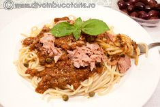 RETETE CU TON | Diva in bucatarie Paste, Spaghetti, Ethnic Recipes, Food, Essen, Meals, Yemek, Noodle, Eten