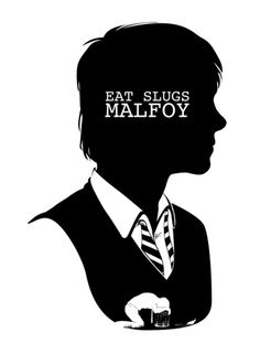 """Ron - Quote Silhouette -- by:   GTRichardson  --  Piece 2 of 7 In Harry Potter Series of images.  Each Piece in the series represents one of the 7 books.  This is a silhouette of Ron Weasley from J.K. Rowling's """"Harry Potter"""" series with a quote from """"Harry Potter and the Chamber of Secrets"""" and a transposed silhouette of Ron vomiting slugs from Chapter 7 """"Mudbloods and Murmurs."""""""