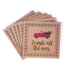 'Jingle All The Way' Placemats