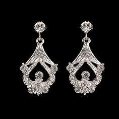 Hayworth Single Drop Earrings | Shop | Bridal Rogue Gallery- Designer wedding gowns & accessories