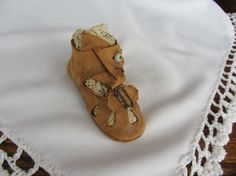 Antique baby shoe