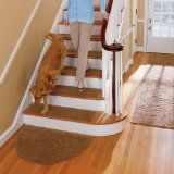 Harrison Weave Washable Stair Treads-9 x 29-Set of 4 - Brown - Improvements