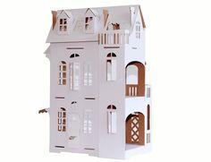 Puppenhaus aus Pappe - Paper Imagination