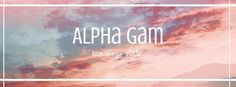 Alpha Gam • Social Media • #AlphaGammaDelta #AlphaGam #AGD #Sorority #Greek #SocialMedia #CoverPhoto #Header #Ideas