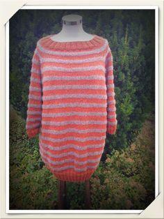 Strikket genser. Mønster Shaktoolik fra StellaCharmingDesign