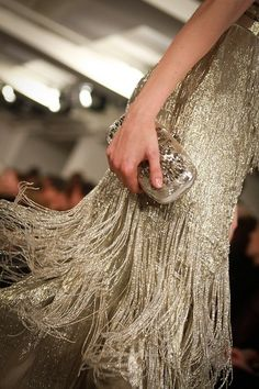 Fashion + Dresses + Gowns + Beadwork + Flapper Style