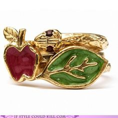 Designed by Jewel Heritage    The Bible taught me that snakes want you to eat apples and be healthy but God might evict you if you do