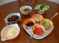 Healthy Family Friendly & Budget Friendly Dinners: Build Your Own Taco Night Bean Recipes, Pork Recipes, Cooking Recipes, Ww Recipes, Bariatric Eating, Bariatric Recipes, High Protein Dinner, Healthy Mexican Recipes, Easy Healthy Dinners