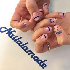 - 별이 우수수 ⭐️ 역시 넘나 이쁘네요! - 저희 디자인 사용하실때에는 출처태그를 꼭 부탁드려요!! @nailalamode 요렇게요😀 - #네일어라모드 #네일그램 #naildesign #nails Pedicure Nail Art, Nail Manicure, Gel Nails, Star Nail Art, Star Nails, Funky Nails, Cute Nails, Magic Nails, Mary Janes
