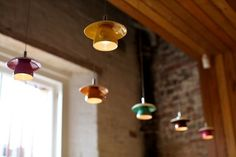 Lámparas taza / Cup pendant lights