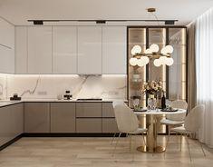 Modern Kitchen Interiors, Luxury Kitchen Design, Kitchen Room Design, Home Room Design, Home Decor Kitchen, Kitchen Furniture, Interior Design Living Room, Home Kitchens, Kitchen Ideas