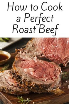 How to Cook a Perfect Roast Beef How to cook a perfect roast beefYou can find Roast beef recipes and more on our website.How to Cook a Perfect Roast Beef How to cook a perfect roast beef Roast Beef Dinner, Cooking Roast Beef, Roast Beef Recipes, Rib Recipes, Game Recipes, Beef Roasting Times, Beef Ribs Recipe, Cook Meat, Smoker Cooking