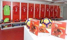 Divock Origi of Liverpool scores the equalising goal to make it 2-2.