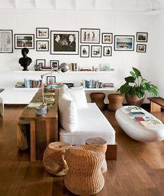 Ideias para Decorar as Paredes com Gallery Walls