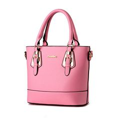 Fashion Euro Style Tote Women Top Handle Boutique Pink Ca…