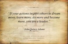 words on leadership   inspirational quotes   Alame Leadership   Inspiration   Personal ...