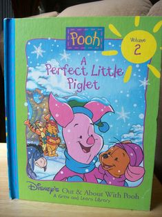 "Disney Winnie the Pooh 1996 ""A Perfect Little Piglet"" Book. From Disney's Out and About with Pooh Series. Volume 2 has Piglet sharing his story. Winnie The Pooh Friends, Disney Winnie The Pooh, Pigs, Magazines, Nostalgia, Memories, Books, Journals, Memoirs"