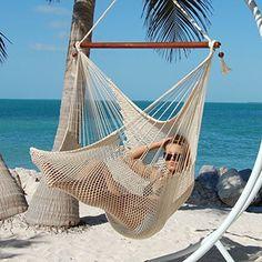 Large Caribbean Hammock Chair - 48 Inch - Polyester - Hanging Chair - cream Caribbean Hammocks http://www.amazon.com/dp/B00RC2OW0S/ref=cm_sw_r_pi_dp_2v4Yvb1SJZ30S