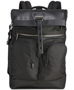 Tumi Alpha Bravo London Roll Top 15 Inch Laptop Backpack - Black for sale online Tumi Backpack, Best Laptop Backpack, Computer Backpack, Backpack Online, Backpack Straps, Travel Backpack, Black Backpack, Travel Bags, Top Laptops