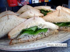 Bacon Chicken Salad Recipe! An Easy Twist On A Traditional Sandwich! » Frugal and Fun Mom/ Florida Mom Blog, Recipes, Crafts, Family Fun