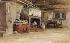 Interior of a Canadian house    (Québec)