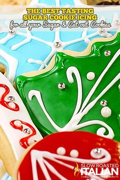 Best Tasting Sugar Cookie Icing Recipe ~ Says: the most scrumptious sugar cookie icing you have ever sunk your teeth into!