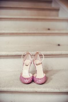 21bd8759928e tuesday shoesday pink glitter christian louboutin heels shoes Ysl