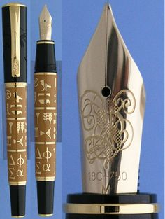 Pelikan Evoulution of script limited edition fountain pen   PS: I'm in love...   #sundays #menswear