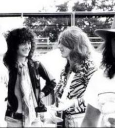 Jimmy Page and Mick Ralphs?