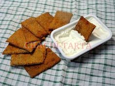 Crackers de trigo sarraceno con tomate (sin gluten – sin lactosa – sin huevo) – CHACHI-TARTA Buckwheat, Crackers, Cornbread, Paleo, Gluten Free, Cookies, Healthy, Ethnic Recipes, Food