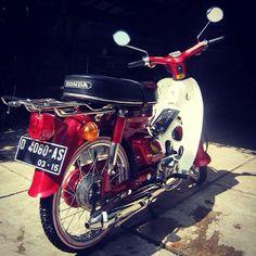 honda c70 restoration