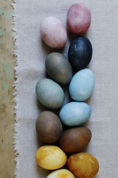 Christine Chitnis: Naturally Dyed Easter Eggs