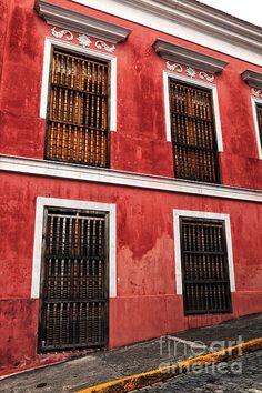 Rojo de San Juan by John Rizzuto
