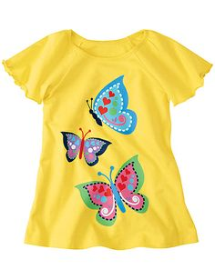Soaring Tees from @Hanna Andersson Andersson #bestmomevercontest. so sunny /butterfly